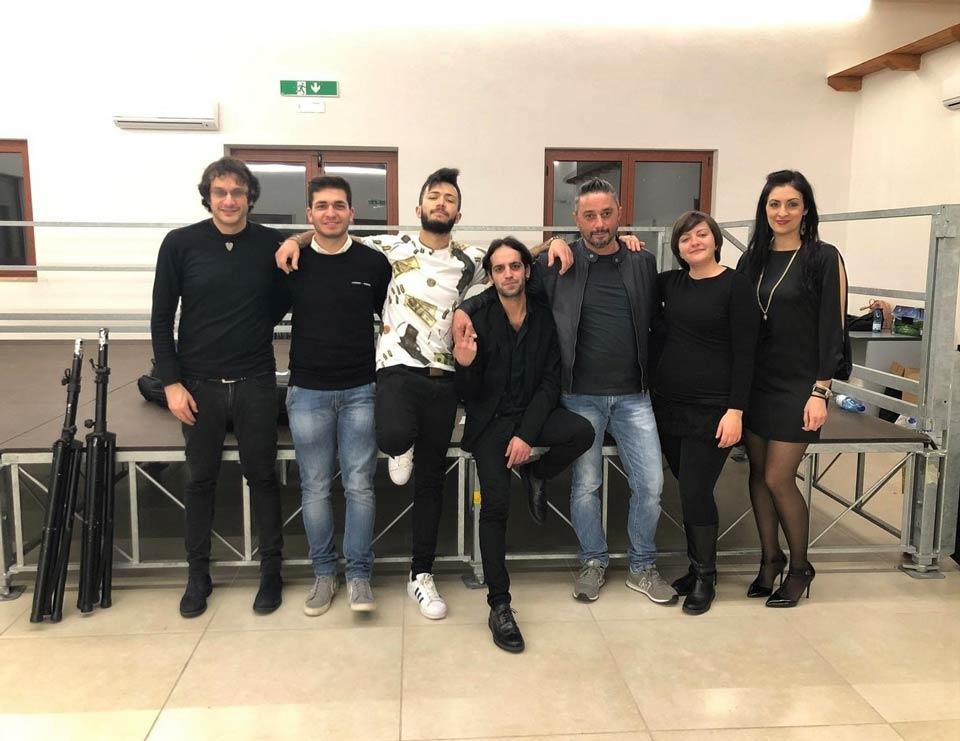 La band del cantautore Francesco Muraca